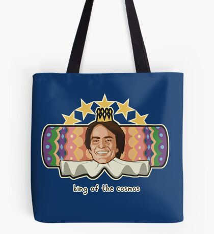 King of the Cosmos Tote Bag