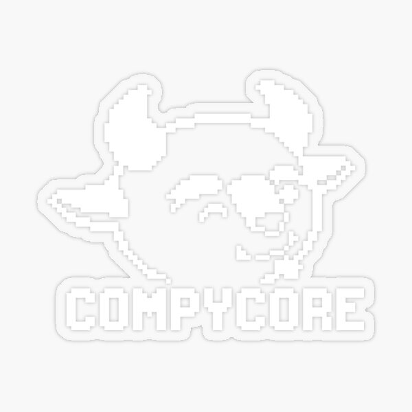 CompyCore Games Transparent Sticker