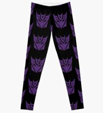 Transformers Decepticons Purple Leggings