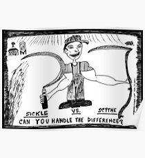 Sickle vs. Scythe Poster