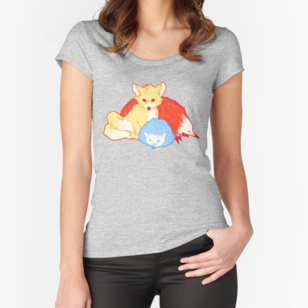 Fast Friends Fitted Scoop T-Shirt