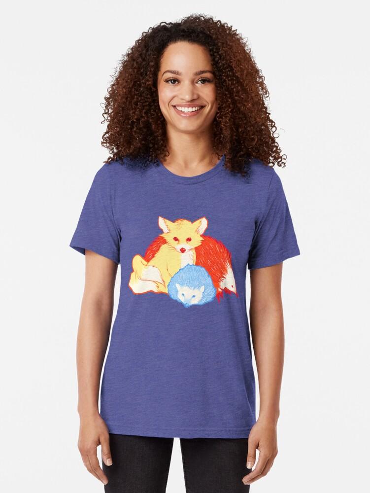 Alternate view of Fast Friends Tri-blend T-Shirt