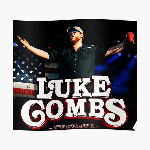 luke combs tour music country fenomenal Poster
