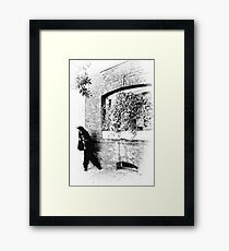 Cheez-it...The Cops! Framed Print