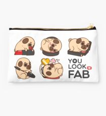 You Look Fab! -Puglie Studio Pouch