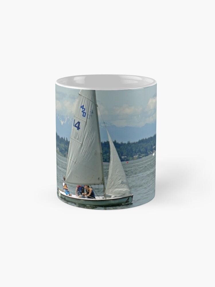 Alternative Ansicht von South Puget Sound Sailing Tassen