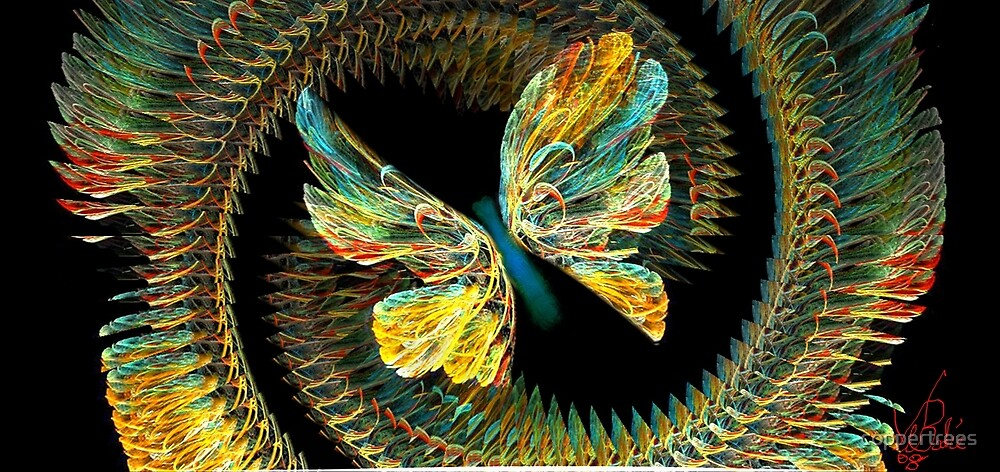 Butterfly Silk by coppertrees