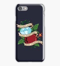 Slay Together, Stay Together - Gotham City Sirens iPhone Case/Skin