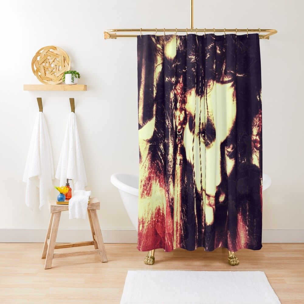 demon lady Shower Curtain