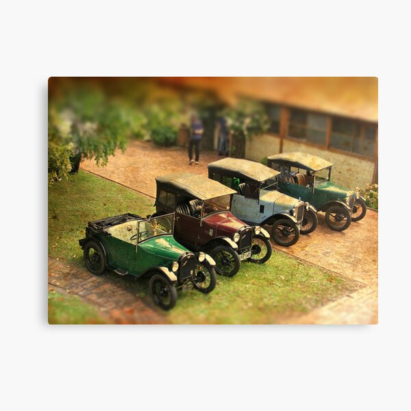 Austin Seven Print British Car Art Deco 1930s
