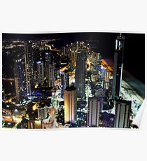 Gold Coast City from SkyPoint Poster