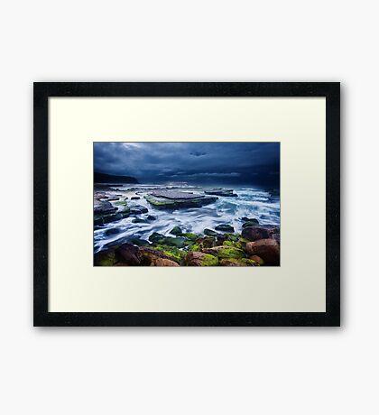 Turimetta Green Framed Print