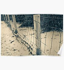 Green's Pool Fence Poster