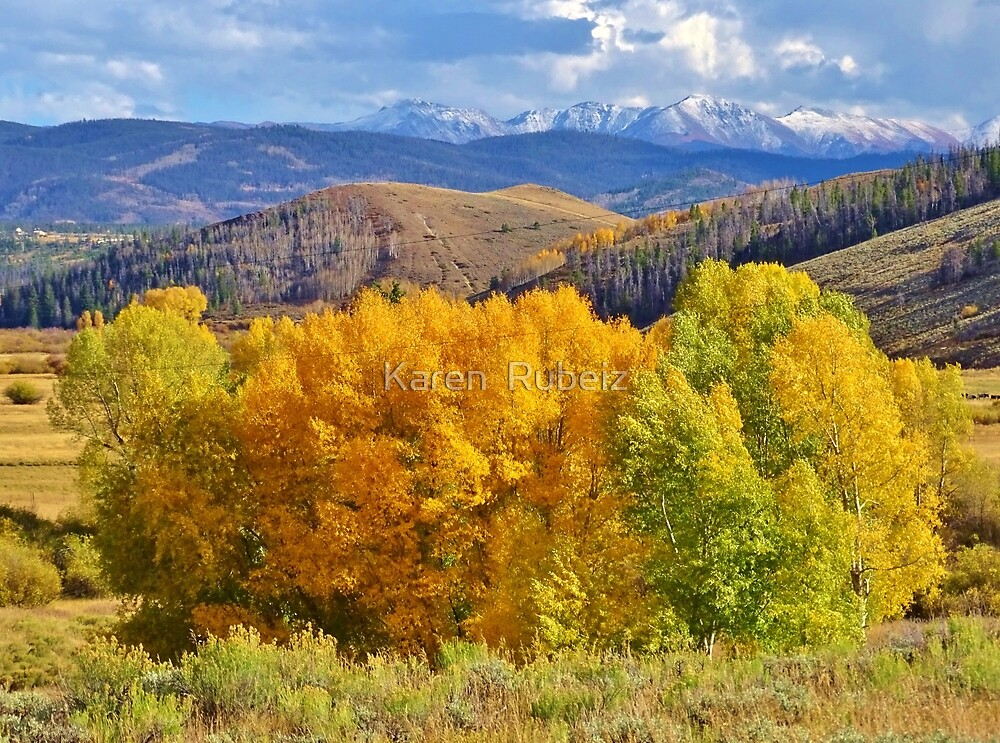 Gold in the High Country by Karen  Rubeiz