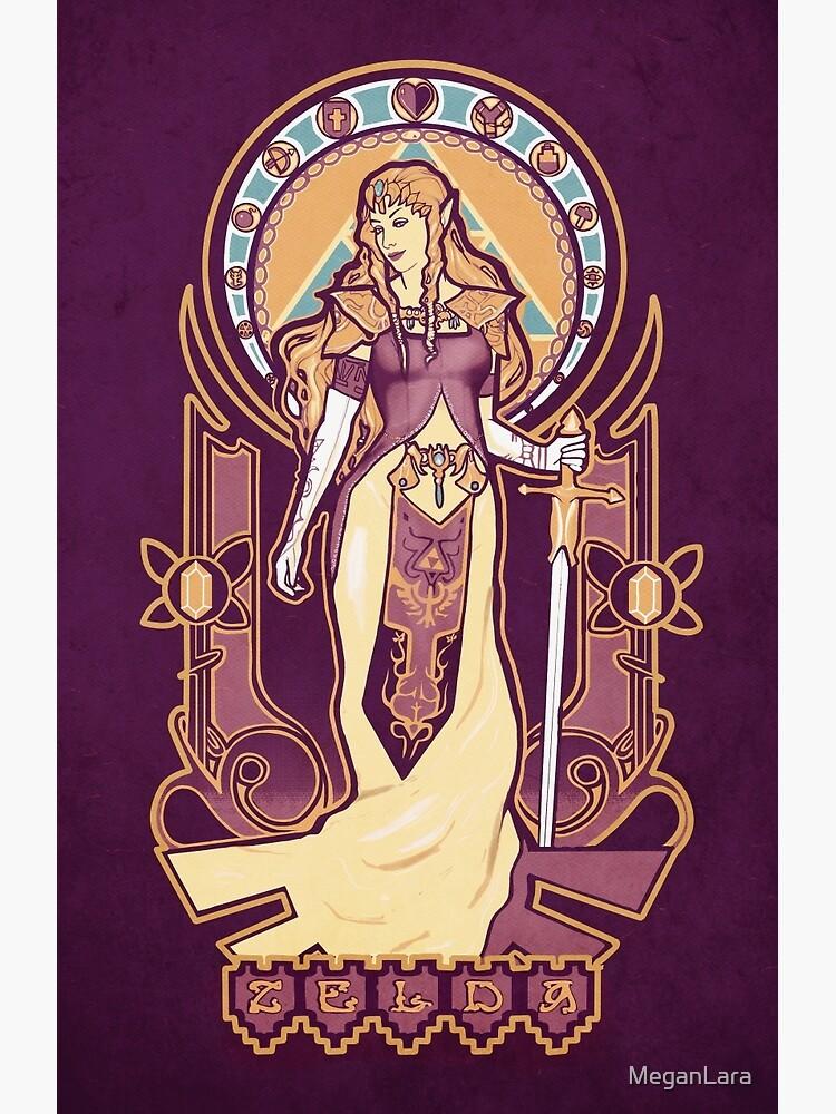Zelda Nouveau by MeganLara