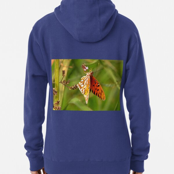 Winter Butterfly Pullover Hoodie