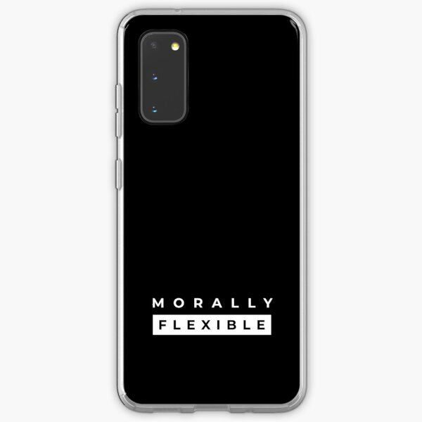 Morally Flexible Samsung Galaxy Soft Case