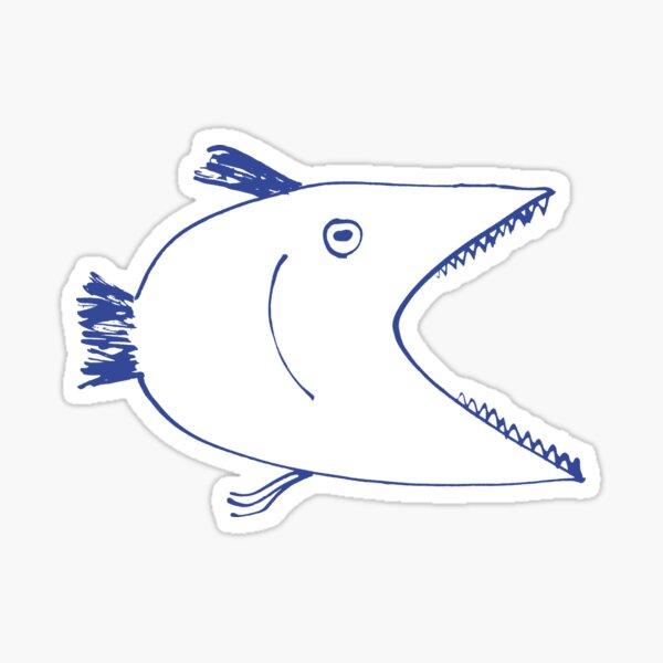 Big fish Sticker