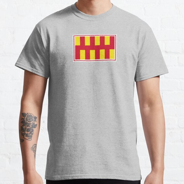 Northumberland Flag Stickers, Gifts and other Products Classic T-Shirt