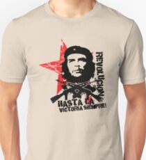 Hasta La Victoria Siempre! - Che Guevara T-Shirt Slim Fit T-Shirt