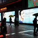 Kowloon Night Rain by Polly Greathouse