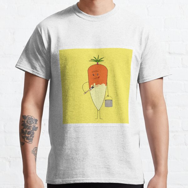 Penny the Carrot getting done up as a parsnip Classic T-Shirt