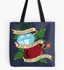 Slay Together, Stay Together - Gotham City Sirens Clean Tote Bag