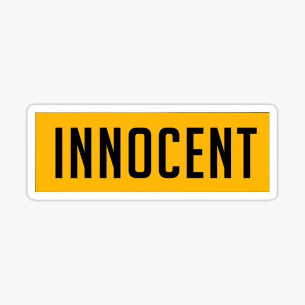 Michael Jackson Inocente Pegatina