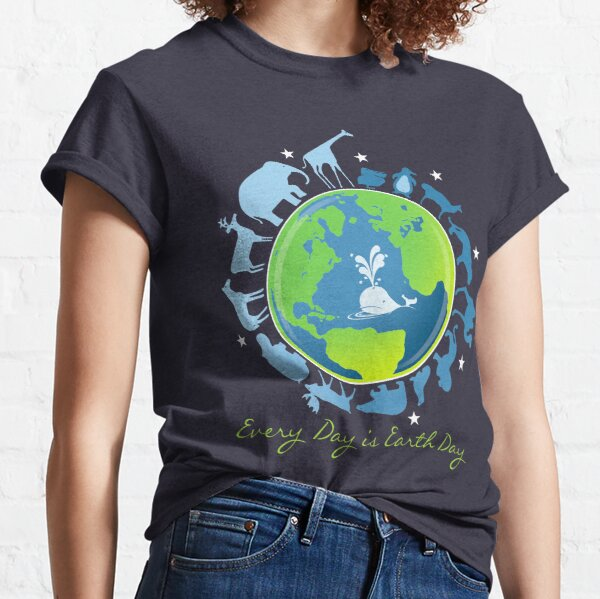 I Love Earth Novelty Earth Day Planet Galaxy Nature Kids Toddler T-Shirt Heart