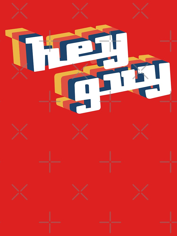 Drew Gooden - Hey Guy Retro Limited Edition by cameronbaba
