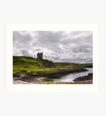 Gylen Castle Art Print