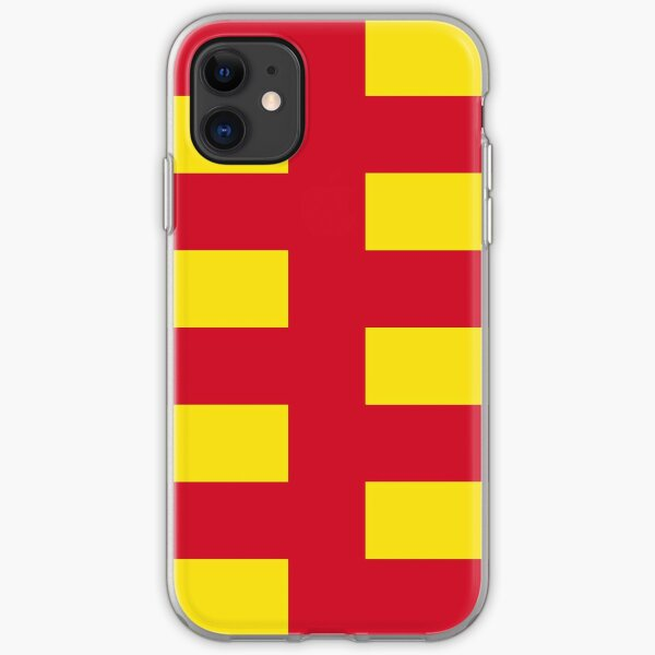 Northumberland Flag Stickers, Gifts and Products iPhone Soft Case