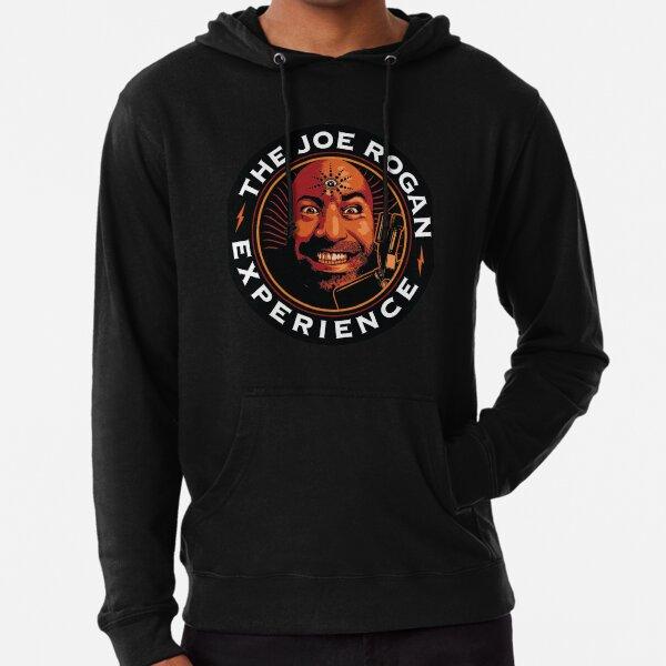 JRE Joe Rogan Erleben Sie Podcast-Logo Leichter Hoodie