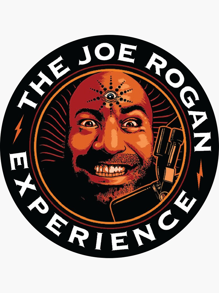 JRE Joe Rogan Experience Podcast Logo by ThePodcastStore