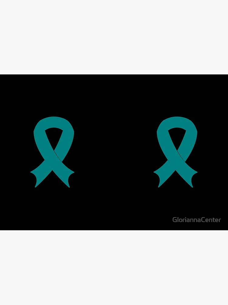 PCOS - teal ribbon by GloriannaCenter