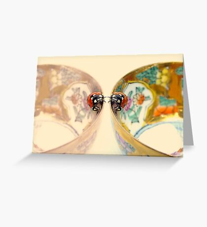 Sympathy for two.... Greeting Card