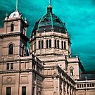royal exhibition building by Bruce  Dickson