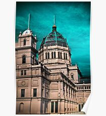 royal exhibition building Poster