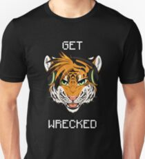 GET WRECKED - Tiger T-Shirt