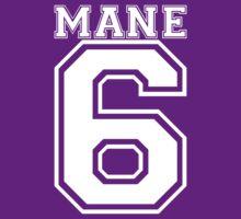 Team Mane 6 - Backprint