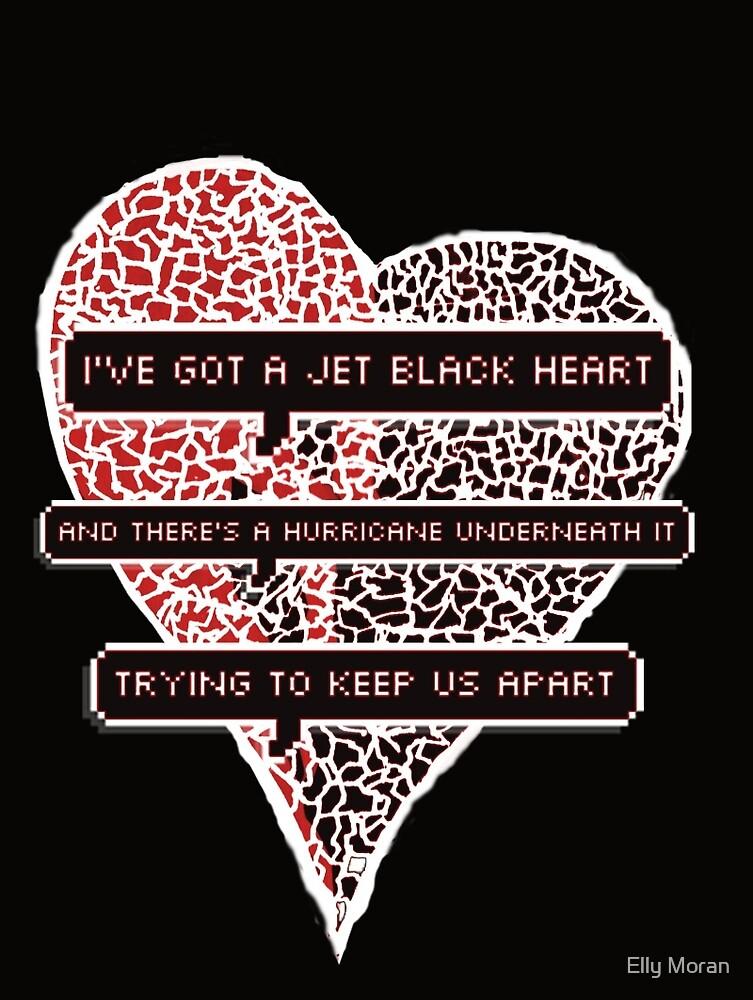 Jet Black Heart by Elly Moran