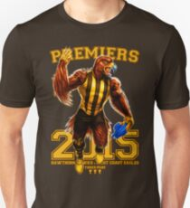 'The Mighty Premiers From Hawthorn' 2015 Print By Grange Wallis T-Shirt
