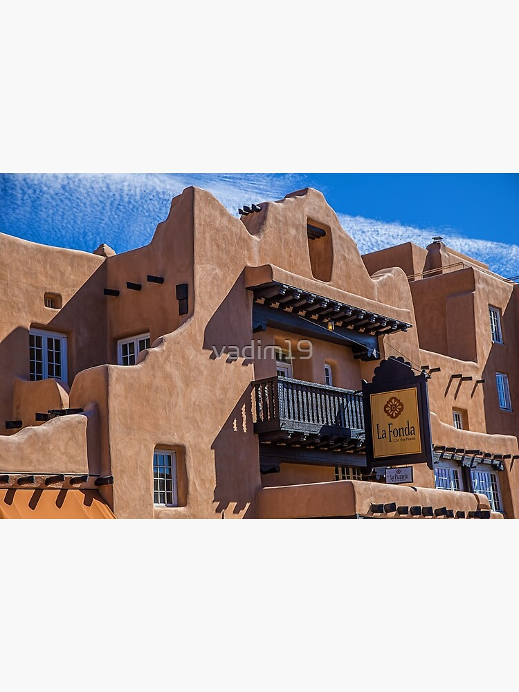USA. New Mexico. Santa Fe. Adobe Architecture. by vadim19