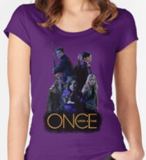 Neverland!  Women's Fitted Scoop T-Shirt