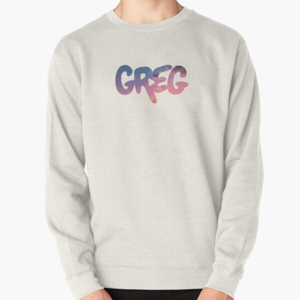 Copy of greg typography logo danny gonzalez drew gooden (sunset) Pullover Sweatshirt