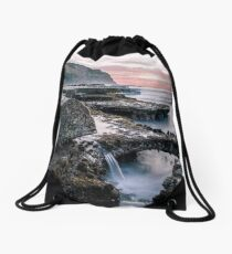 Bar Beach, NSW, Australia Drawstring Bag