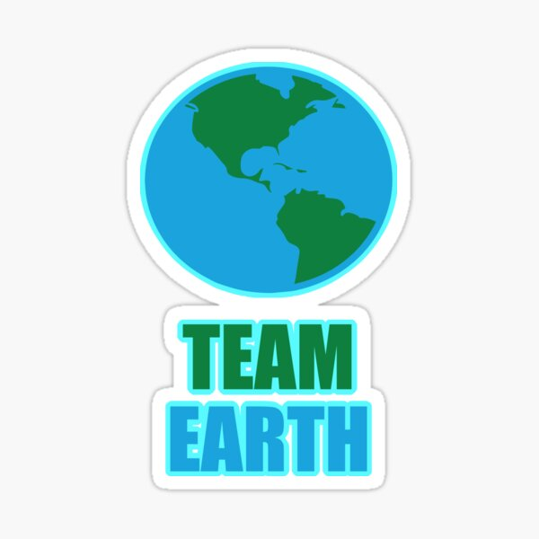 Team Earth Climate Activists Sticker