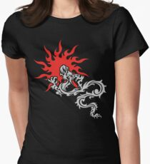 Chinese Dragon Women's Fitted T-Shirt