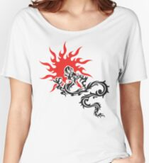 Chinese Dragon Women's Relaxed Fit T-Shirt