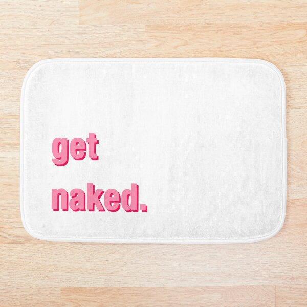 Desnudarse - Rosa Alfombra de baño